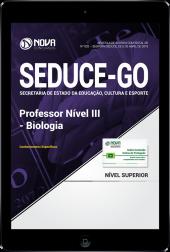 Download Apostila SEDUCE - GO - Professor Nível III - Biologia (PDF)