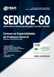 Apostila SEDUCE - GO - Comum as Especialidades de Professor Nível III