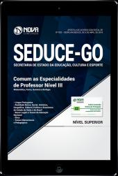 Download Apostila SEDUCE - GO - Comum as Especialidades de Professor Nível III (PDF)