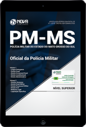 Download Apostila PM-MS - Oficial da Polícia Militar (PDF)