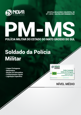 Apostila PM-MS - Soldado da Polícia Militar