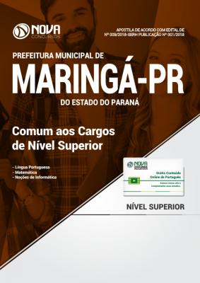 Apostila Prefeitura de Maringá - PR - Comum aos Cargos de Nível Superior