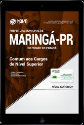 Download Apostila Prefeitura de Maringá - PR - Comum aos Cargos de Nível Superior (PDF)
