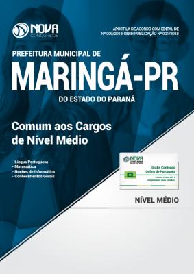 Apostila Prefeitura de Maringá - PR - Comum aos Cargos de Nível Médio