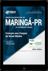 Download Apostila Prefeitura de Maringá - PR - Comum aos Cargos de Nível Médio (PDF)