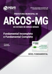 Apostila Prefeitura de Arcos - MG - Fundamental Incompleto e Completo