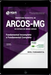 Download Apostila Prefeitura de Arcos - MG - Fundamental Incompleto e Completo (PDF)
