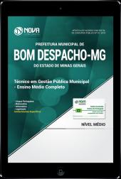 Download Apostila Prefeitura de Bom Despacho - MG - Técnico em Gestão Pública Municipal (PDF)