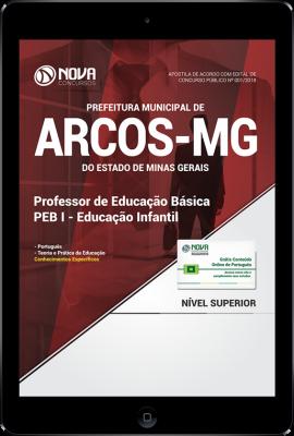 Download Apostila Prefeitura de Arcos - MG - Professor PEB I - Educação Infantil (PDF)
