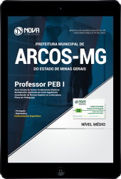 Download Apostila Prefeitura de Arcos - MG - Professor PEB I - Anos Iniciais do Ensino Fundamental (PDF)