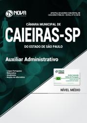 Apostila Câmara de Caieiras - SP - Auxiliar Administrativo