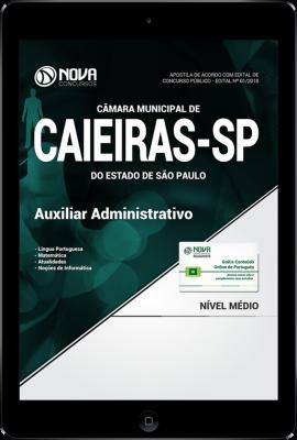 Download Apostila Câmara de Caieiras - SP - Auxiliar Administrativo (PDF)
