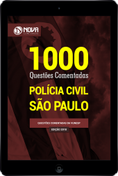 Download E-book 1000 Questões Comentadas PC SP (PDF)