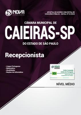 Apostila Câmara de Caieiras - SP - Recepcionista