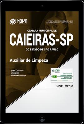 Download Apostila Câmara de Caieiras - SP - Auxiliar de Limpeza (PDF)