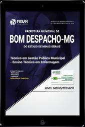 Download Apostila Prefeitura de Bom Despacho - MG - Técnico em Gestão Pública Municipal - Técnico em Enfermagem (PDF)