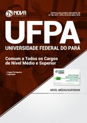 Apostila UFPA - Comum a Todos os Cargos de Nível Médio e Superior