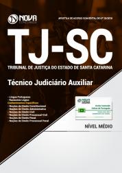 Apostila TJ-SC - Técnico Judiciário Auxiliar