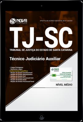 Download Apostila TJ-SC - Técnico Judiciário Auxiliar (PDF)