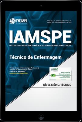 Download Apostila IAMSPE - SP - Técnico de Enfermagem (PDF)