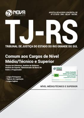 Apostila TJ-RS - Comum aos Cargos de Nível Médio/Técnico e Superior