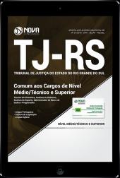 Download Apostila TJ-RS - Comum aos Cargos de Nível Médio/Técnico e Superior (PDF)