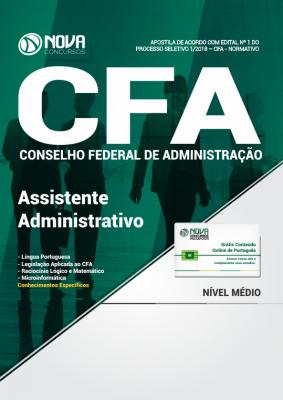 Apostila CFA-DF - Assistente Administrativo