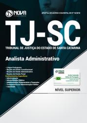 Apostila TJ-SC - Analista Administrativo