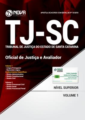 Apostila TJ-SC - Oficial de Justiça e Avaliador