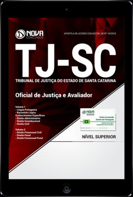 Download Apostila TJ-SC - Oficial de Justiça e Avaliador (PDF)