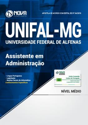 Apostila UNIFAL-MG - Assistente em Administração