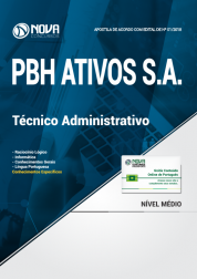 Apostila PBH ATIVOS S.A - Técnico Administrativo