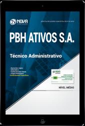 Download Apostila PBH ATIVOS S.A - Técnico Administrativo (PDF)