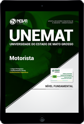 Download Apostila UNEMAT - Motorista (PDF)