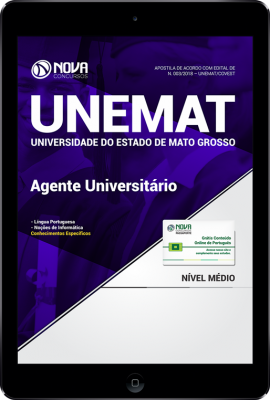 Download Apostila UNEMAT - Agente Universitário (PDF)