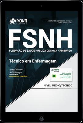 Download Apostila FSNH - Técnico em Enfermagem (PDF)