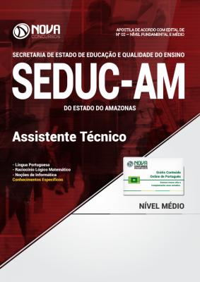 Apostila SEDUC - AM - Assistente Técnico