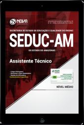 Download Apostila SEDUC - AM - Assistente Técnico (PDF)