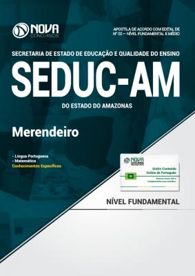 Apostila SEDUC - AM - Merendeiro