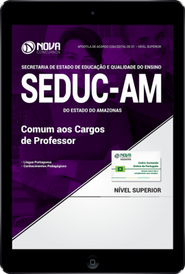 Download Apostila SEDUC - AM - Comum aos Cargos de Professor (PDF)