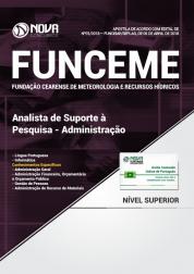 Apostila FUNCEME CE - Analista de Suporte à Pesquisa - Administração