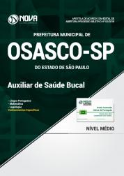 Apostila Prefeitura de Osasco - SP - Auxiliar de Saúde Bucal