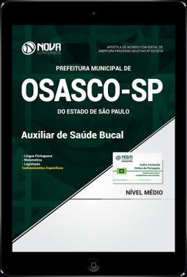 Download Apostila Prefeitura de Osasco - SP - Auxiliar de Saúde Bucal (PDF)