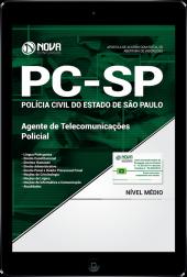 Download Apostila PC-SP - Agente de Telecomunicações Policial (PDF)