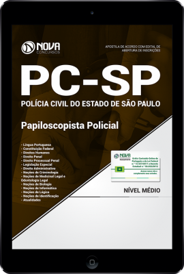 Download Apostila PC-SP - Papiloscopista Policial (PDF)