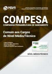 Apostila COMPESA - Comum aos Cargos de Nível Médio/Técnico