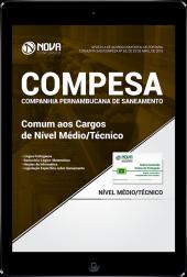 Download Apostila COMPESA - Comum aos Cargos de Nível Médio/Técnico (PDF)