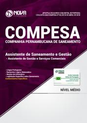 Apostila COMPESA - Assistente de Saneamento e Gestão - Assistente de Gestão e Serviços Comerciais