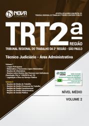 Apostila TRT-SP 2ª Região - Técnico Judiciário - Área Administrativa