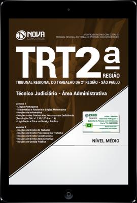 Download Apostila TRT-SP 2ª Região - Técnico Judiciário - Área Administrativa (PDF)